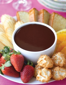 Barbara Beery's Chocolate Fondue Recipe